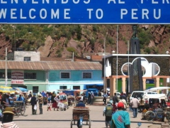 The Peruvian-Ecuadorian border has been inundated with Venezuelan migrants in recent months